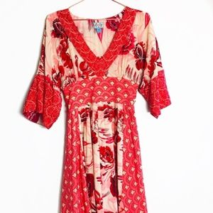 Anthro Plenty by Tracy Reese Kimono Dress 2